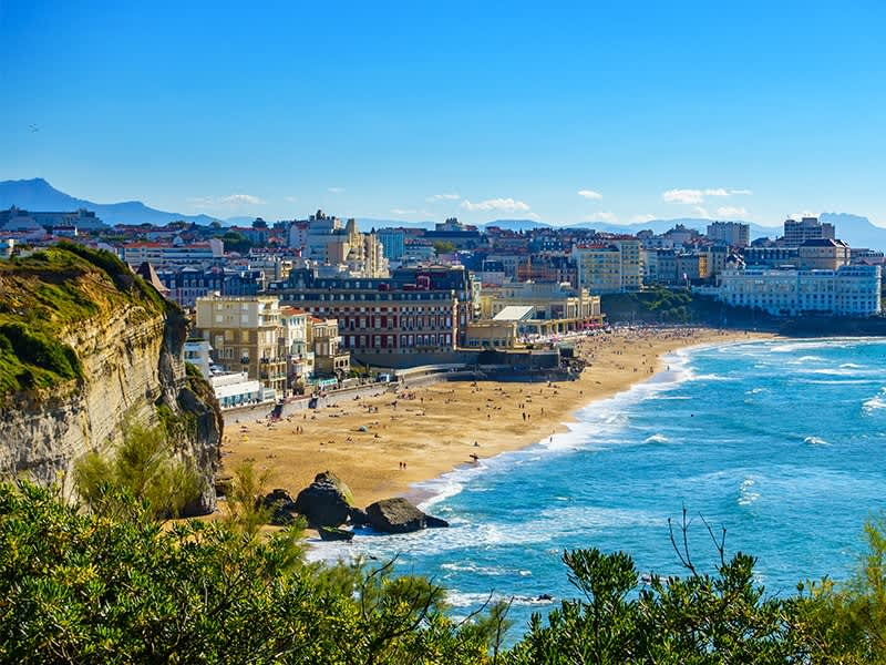 Vol pas cher Londres City - Biarritz