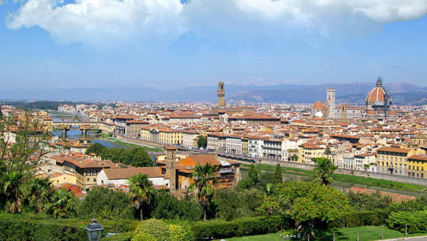 Vol pas cher Barcelone - Florence