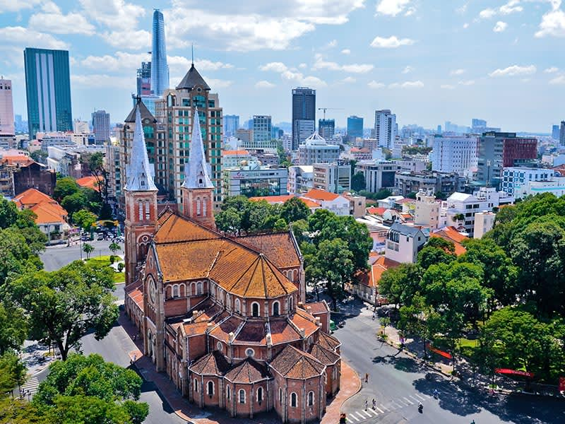 Vol pas cher Bangkok Don Muang - Ho Chi Minh City