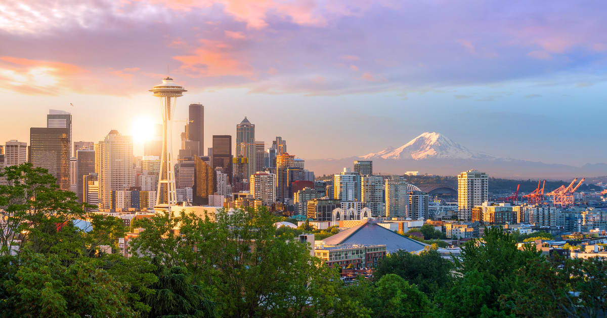 Vol pas cher Luxembourg - Seattle