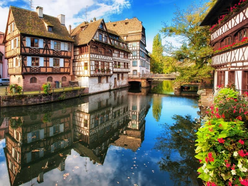 Vol pas cher Florence - Strasbourg