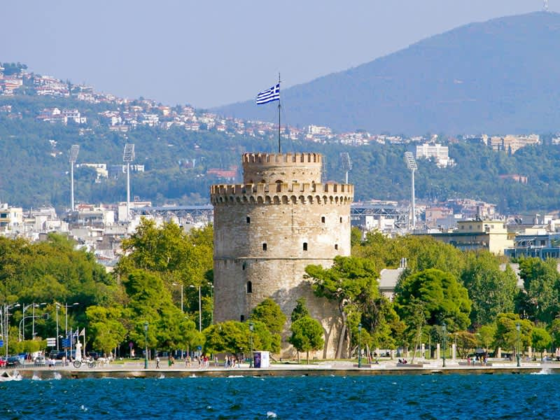 Vol pas cher Stansted - Thessaloniki
