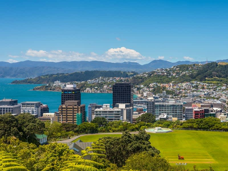 Vol pas cher Christchurch - Wellington